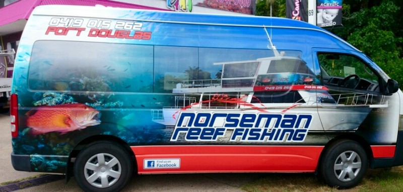 Norseman's new bus